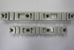 Fiber glass Reinforced Polyester resin Busbar insulation (Busbar holder) Made in Germany